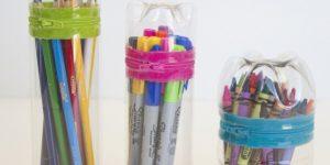 Plastik Şişeden Kalemlik