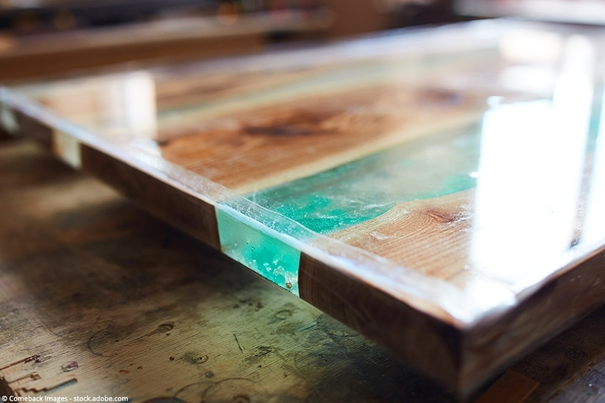 resine epoxy table guide pour votre
