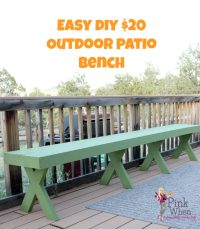 20 DIY Garden and Patio Crafts to Make Your Outdoor Space ...