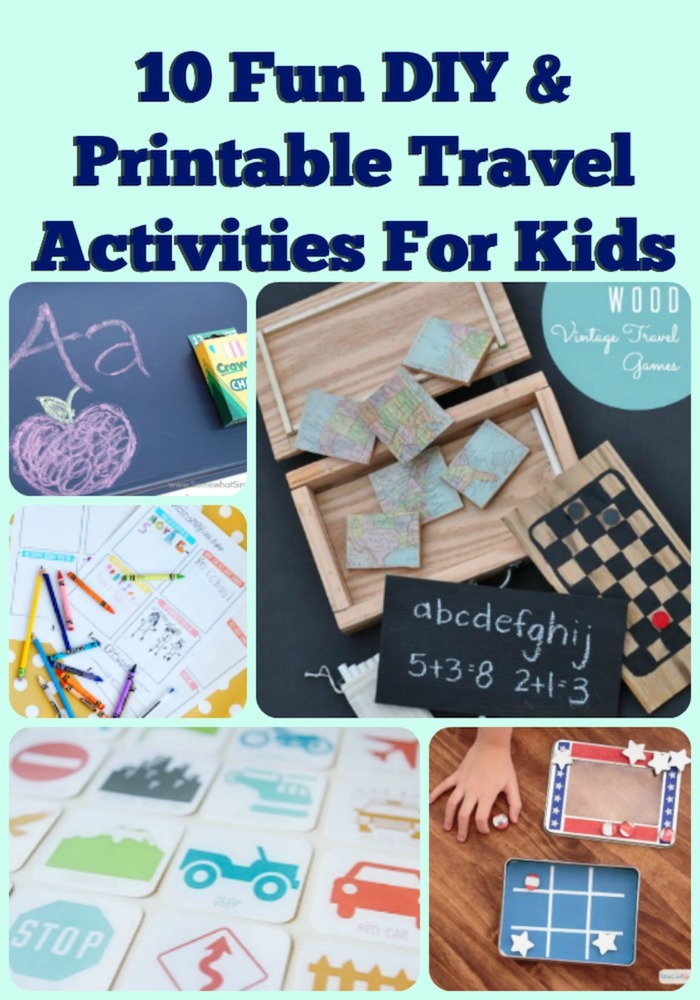 10 Fun DIY Printable Travel Activities To Keep The Kids Busy Resin Crafts
