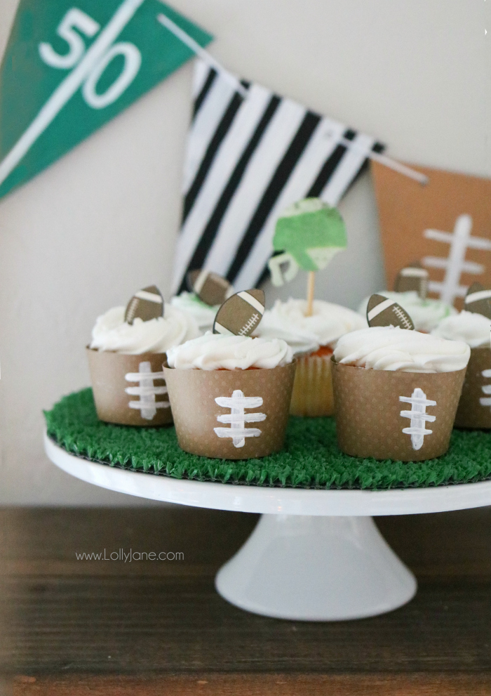 10 DIY Football Crafts  Decor for Game Day  Resin Crafts