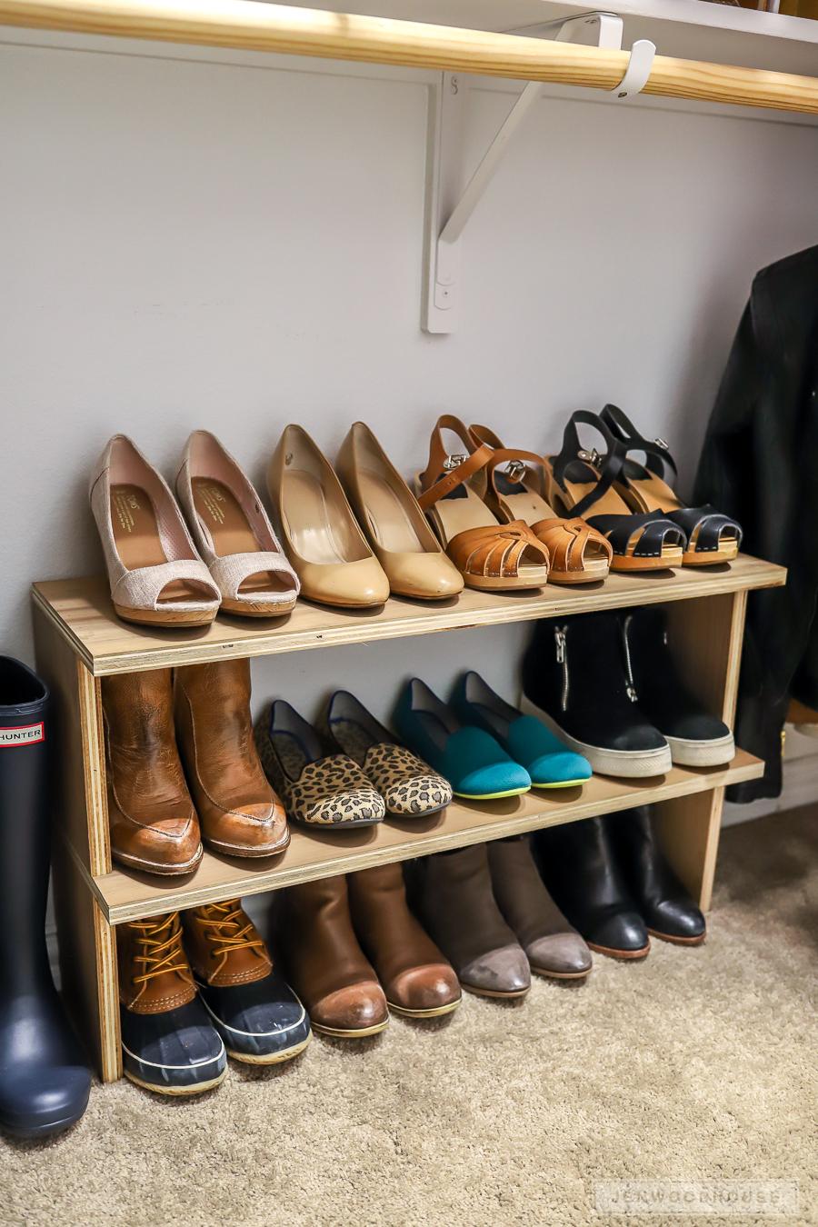 diy shoe organizer 13 resin crafts