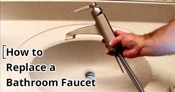 How to Replace a Bathroom Faucet easy way by resisories