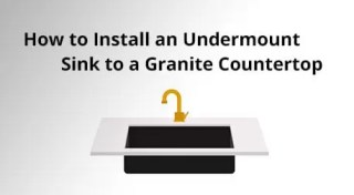 How to Install an Undermount Sink to a Granite Countertop