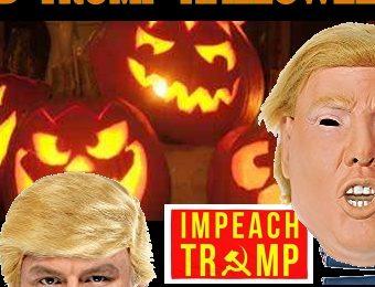 President Donald Trump Halloween costumes mask in stock