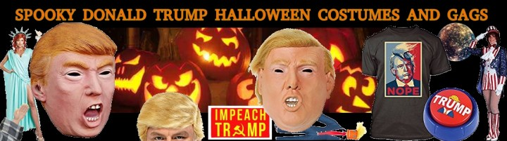 President Donald Trump Halloween costumes mask in stock