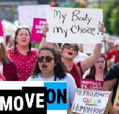 MoveOn org protects women reproductive rights