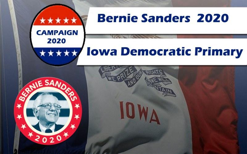 Help Bernie win the Iowa Primary race