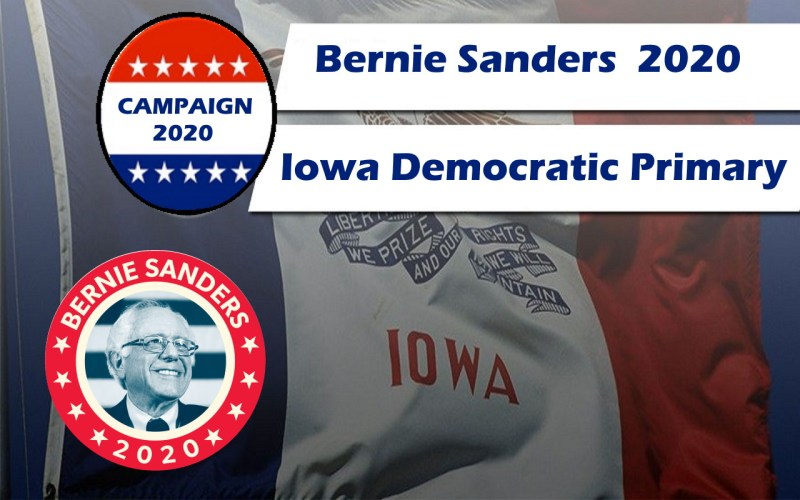 Help Bernie win the Iowa Primary race
