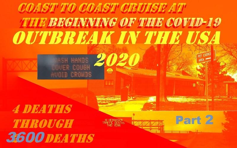 Driving coast to coast when the coronavirus epidemic hits the USA