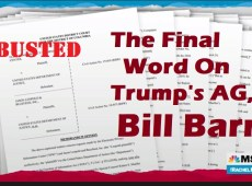 The Final Word On Bill Barr