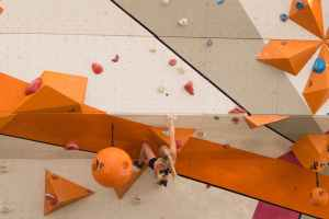 sport muscles climbing climber