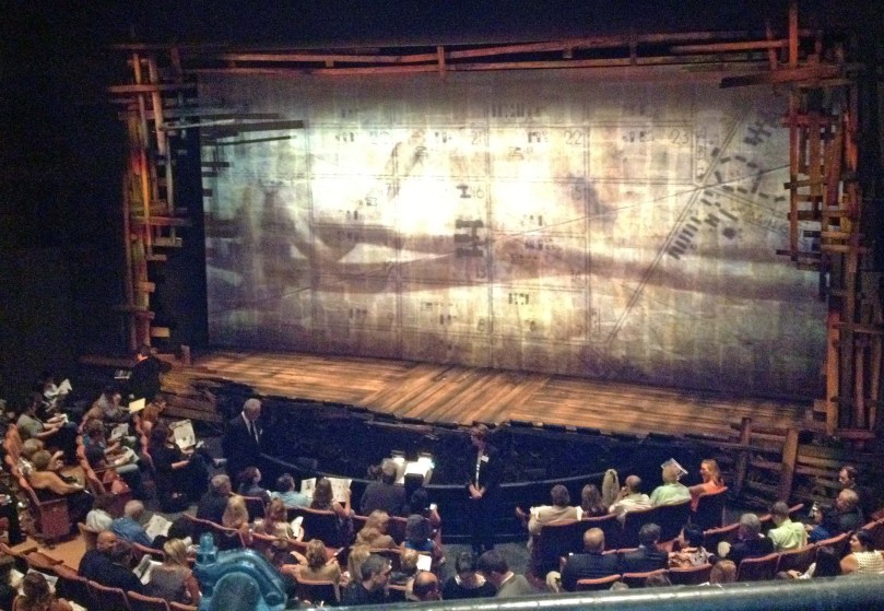 Opening night at The Old Globe Theater