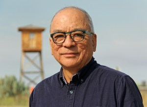 Frank Abe at Minidoka