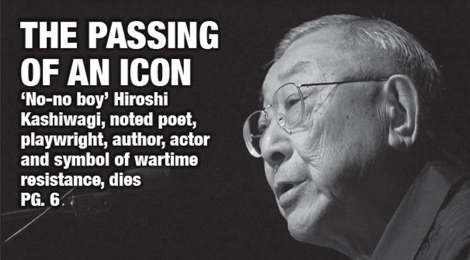 In Memoriam: Hiroshi Kashiwagi — poet, playwright, no-no, and renunciant