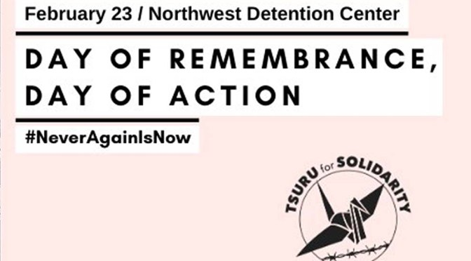 A Day of Remembrance = A Day of Action