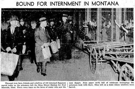 Seattle Times photo, 1942