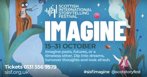 Scottish International Storytelling Festival banner