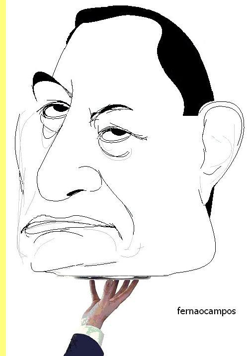 Cartoon de Fernão Campos.