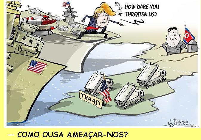 As provocações dos EUA para a guerra nuclear