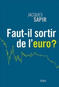 Capa de 'É preciso sair do euro?'