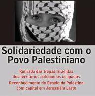 solidariedade com o povo palestino