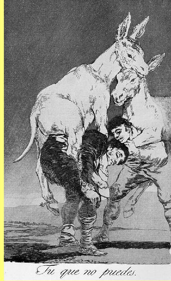 Goya, gravura.