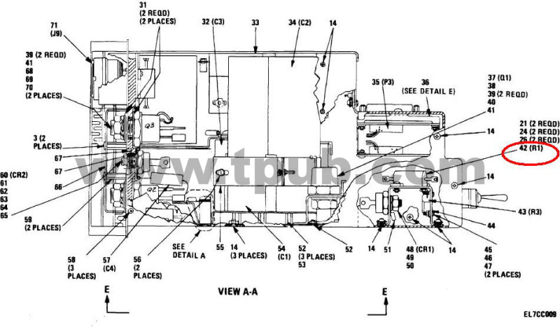 5905-00-331-7775 Resistor, Fixed, Wire Wound, Inductive