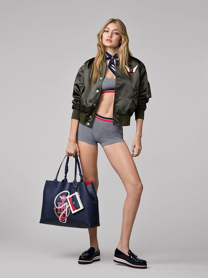 Coleção Tommy x Gigi Hadid