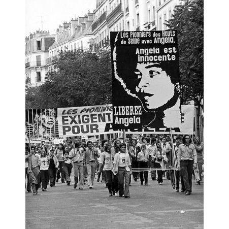 Licne De La Campagne Free Angela Davis Qui Est Angela Davis Ses Combats En 10 Photos