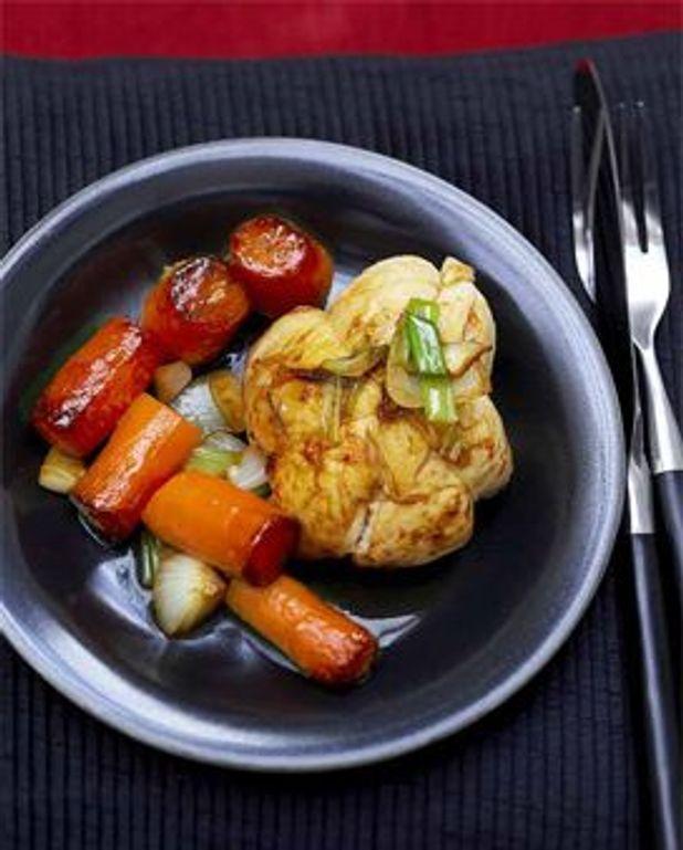 Cuisson Paupiette De Poulet : cuisson, paupiette, poulet, Paupiettes, Poulet, Carottes, Caramelisees, Personnes, Recettes, Table