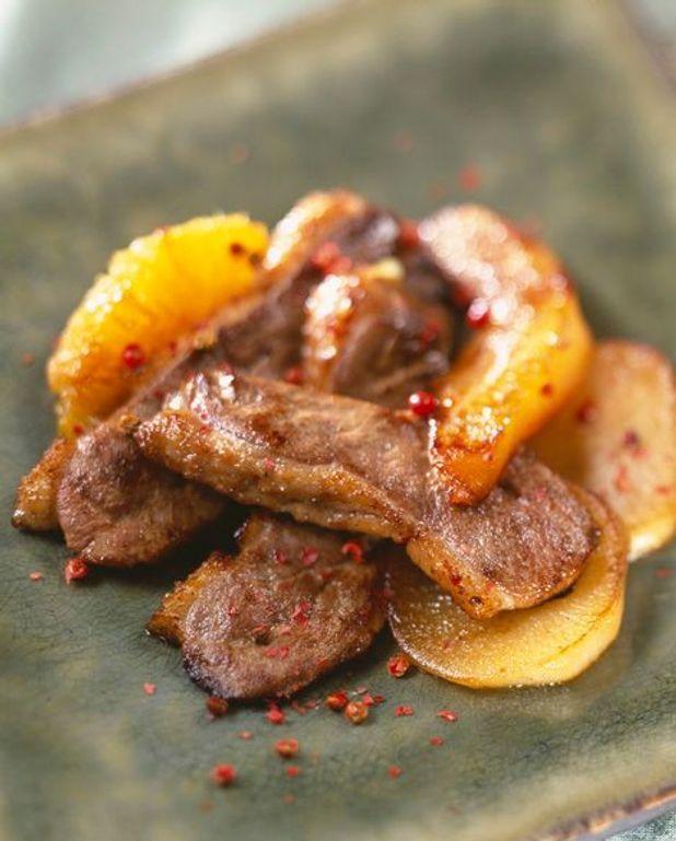 Cuisson Aiguillette De Canard : cuisson, aiguillette, canard, Aiguillettes, Canard, Fruits, Recettes, Table