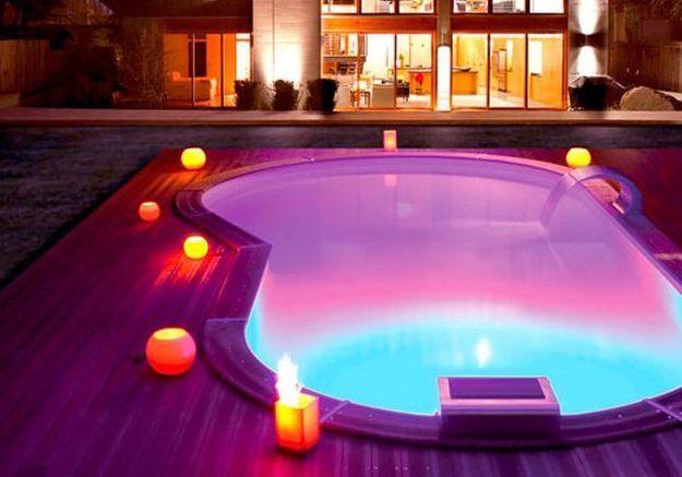 eclairer sa piscine 7 possibilites