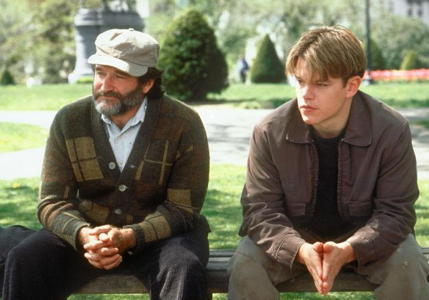 Image result for Robin Williams in Good Will Hunting