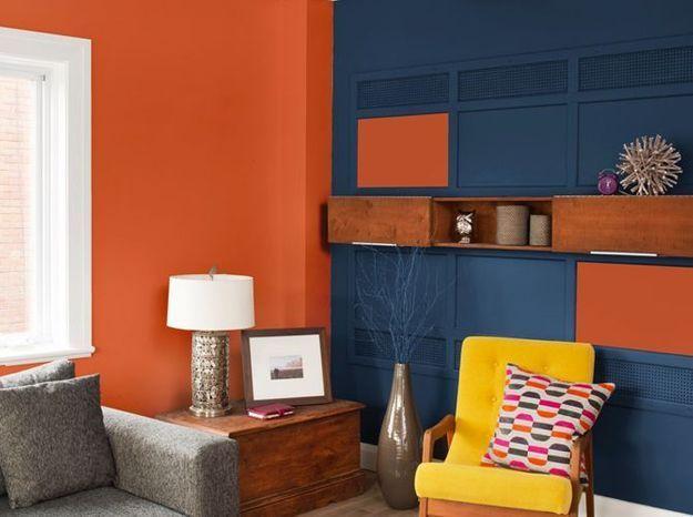 Peinture salon  plus de 20 couleurs canons pour le repeindre  Elle Dcoration