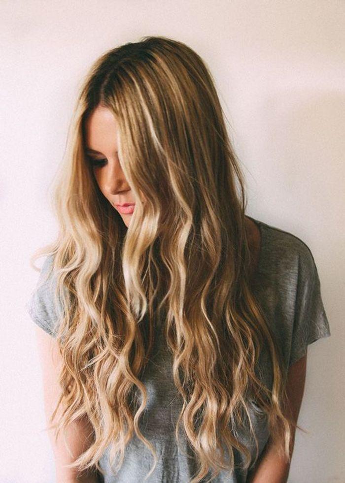 Coiffure Mariage Cheveux Long Detaches