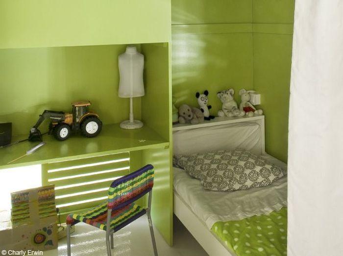 Chambre Garcon Vert Canard