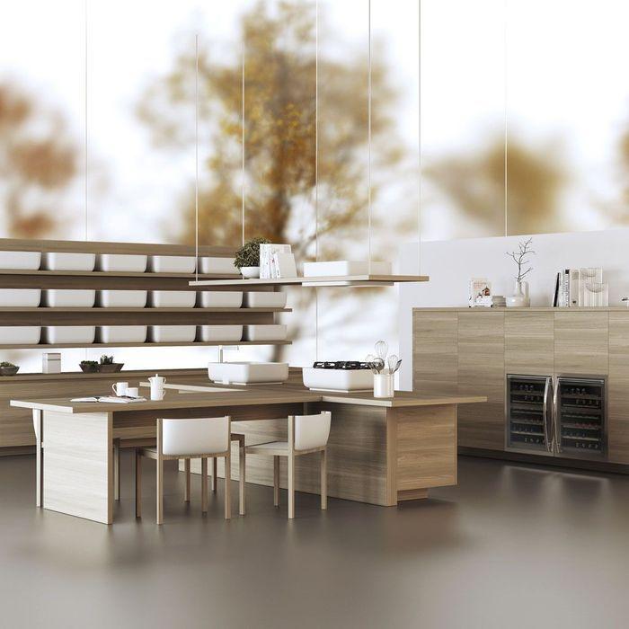 table rétractable cuisine
