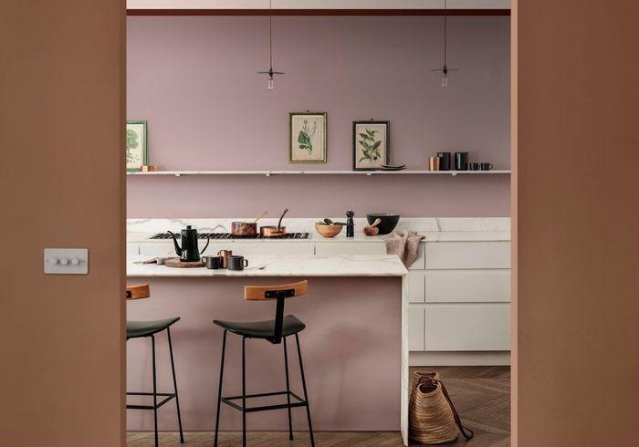 Chambre Vieux Rose Et Gris | Idée Décoration Pour ...