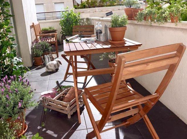 mobilier de jardin de ville et terrasse