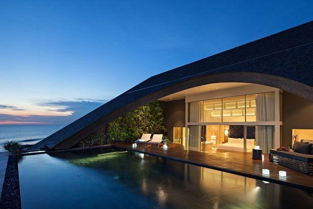 Suite Penthouse terrasse et piscine Hôtel Como Uma Canggu, Bali