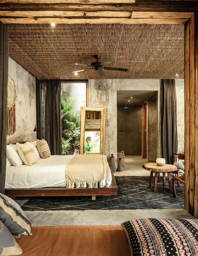 La chambre de l'hôtel Be Tulum
