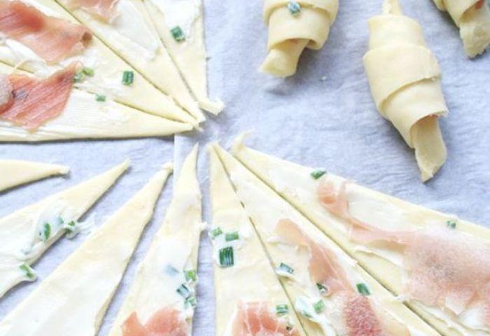 Croissants Salés Roquefort Jambon De Bayonne Poire 7 Recettes De
