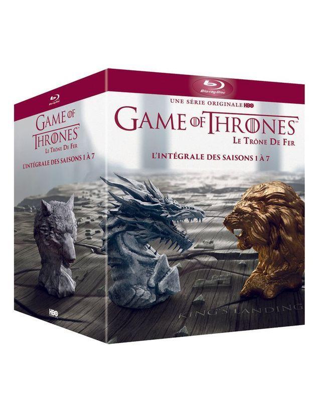 Coffret Intégrale Game Of Thrones Livre : coffret, intégrale, thrones, livre, Coffret, L'intégrale, Thrones, Saison, Offrir, Binge-watcher, L'hiver