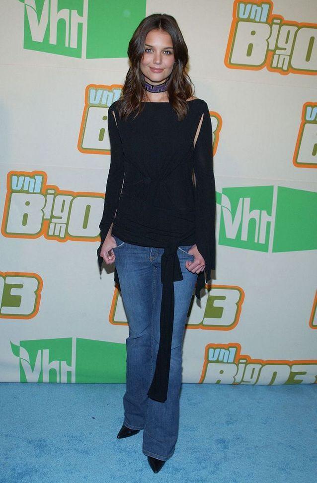 Katie Holmes à Los Angeles, en 2003