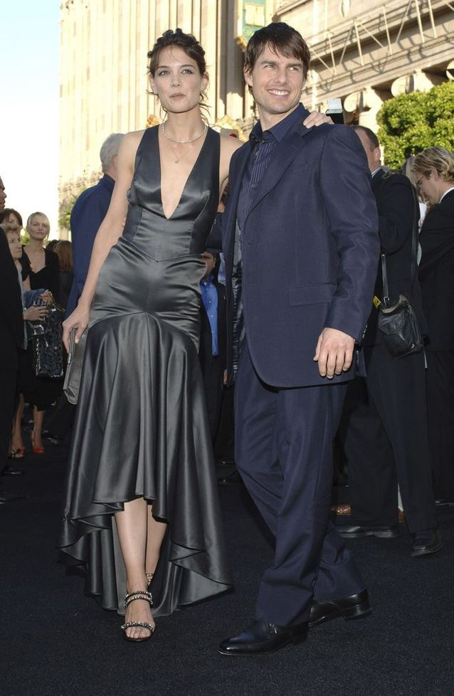 Katie Holmes et Tom Cruise en 2005