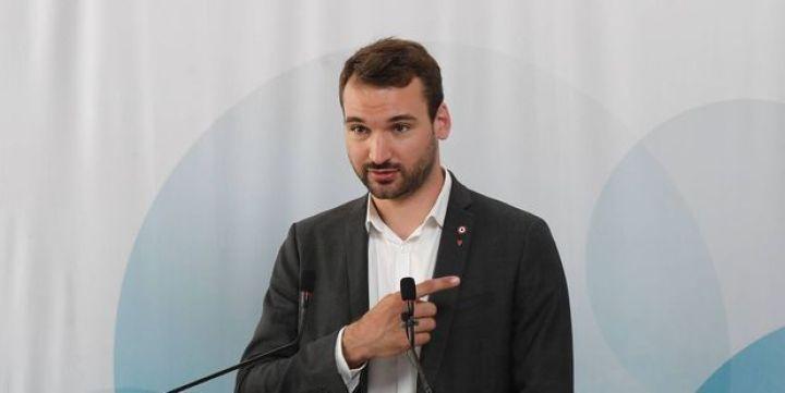 """Ugo Bernalicis, élu de La France insoumise et président de la commission d'enquête parlementaire consacrée aux """"obstacles à l'indépendance du pouvoir judiciaire""""."""