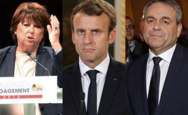 Martine Aubry Paris Match