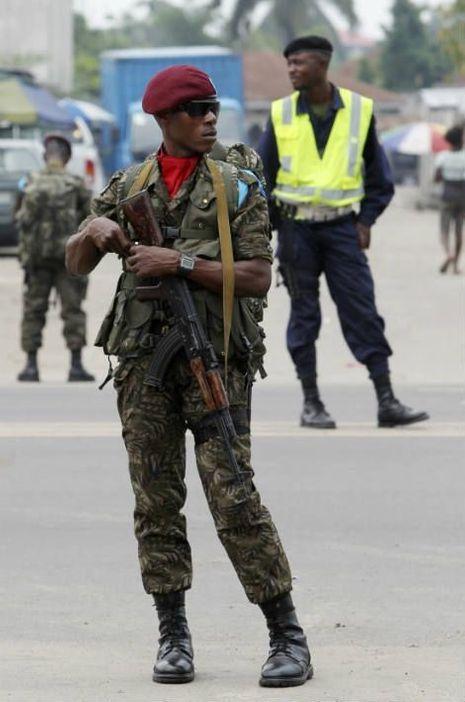 Un soldat en RDC en 2012