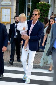 Andrea Casiraghi Son Sacha